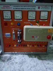 Itc 440v Dc Shunt Generator Coupled With Squirrel Cage Panel, Voltage: 201-500 V, Model Name/Number: El134