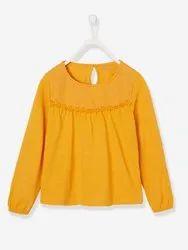 Girls Designer Cotton Top
