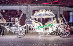 DST EXPORTS Australian Wedding Cinderella Horse Carriage