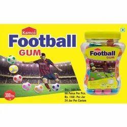 Kamco Football Bubble Gum