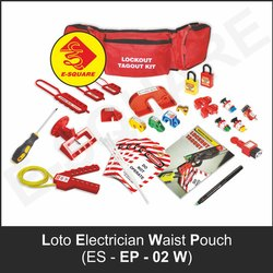 Loto Electrician Waist Pouch