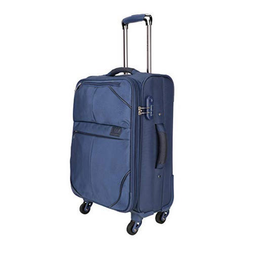 4aafe658d58d Nasher Miles Brunei Soft-Sided Check-in Luggage Bag Blue 24 inch ...