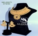 Designer Gold Plated Chokar Jewelry