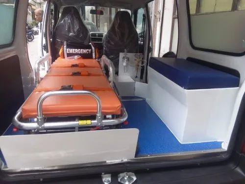 AC Petrol Maruti Eeco Ambulance, Vehicle Model: 2019 | ID