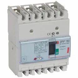 DPX3 160 MCCB 4P Breaking Capacity Icu 36 KA (400 V) 80A