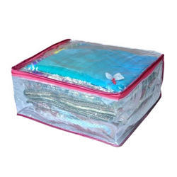 Saree Cover Zipper Bag, Pack Size: 50 Piece In 1 Carton