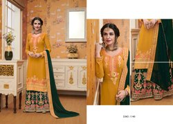 Memorizing Georgette Embroidered Pakistani Salwar Kameez