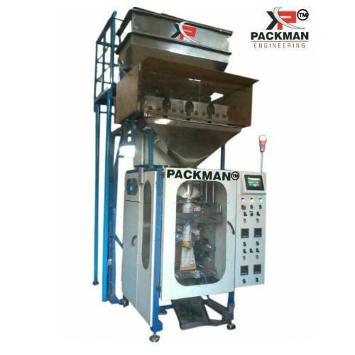 Packman 200-400 grams Pouch Packing Machine With Nitrogen Filling