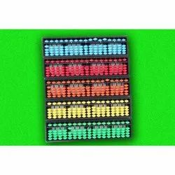 17 Rod Multi Color Bead Student Abacus