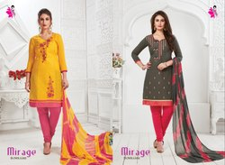 Khushika Cotton Designer Suit