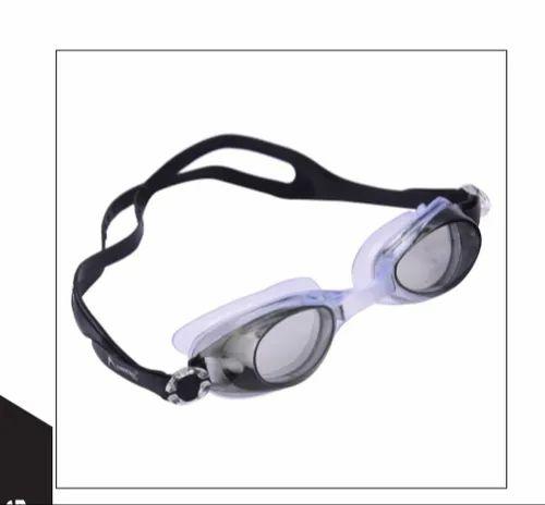 Arrowmax Black Anti Fog Swimming Goggle