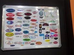 Digital Dome Stickers, Packaging Type: Box,Carton, Size: 16 Micron - 2 mm Thickness