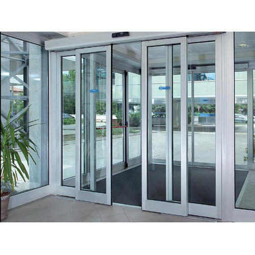 Automatic Sliding Glass Doors: Automatic Sliding Doors At Rs 180000 /piece