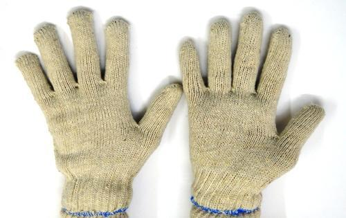 50 Gram Cotton Knitted Safety Hand Glove