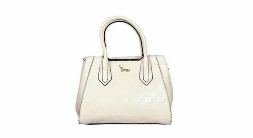 Beige Handbags Bg 7