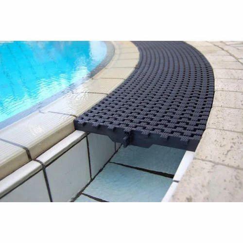 Swimming Pool Overflow Grating | Apram Swimming Pool ...