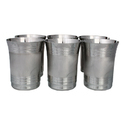 Steel Glasses, Shatterproof Metal Drinking Tumblers