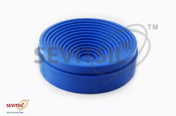 Blue Silicone Flask Stand, Temperature: 50 to + 250 deg C