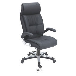 Black Revolving Director Chair