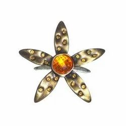 Flower Shape Belt Buckle