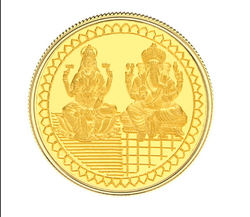 Ganesh Lakshmi Gold Coins