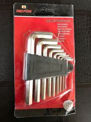 Redfire Allen Key Set, Hex Key Wrench, Warranty: 1 Year