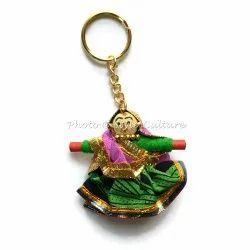 Indian Handmade Cotton Lace Keyrings