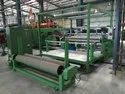 Flat Industrial Carpet Fabric Extrusion Coating Lamination Plant Line Machine India