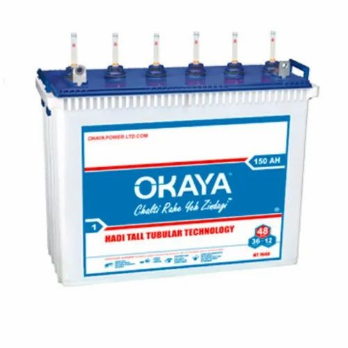 Okaya HT 5024 150AH Tall Tubular Battery