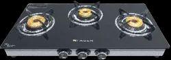 Black Faber Hob Cooktop Splendor 3bb Ss (Auto), Size: 69cm