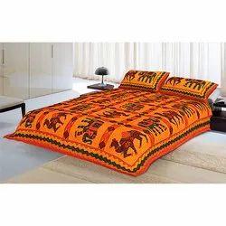 Kantha Work Double Bedsheet