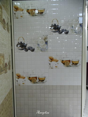 Gloss Ceramic Printex Somany Bathroom Tiles Packaging