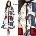 Indian Ethnic Designer Rayon Printed Kurti