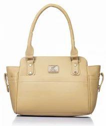 P.U Fostelo Women's Alysse Handbag (Beige) (FSB-918)