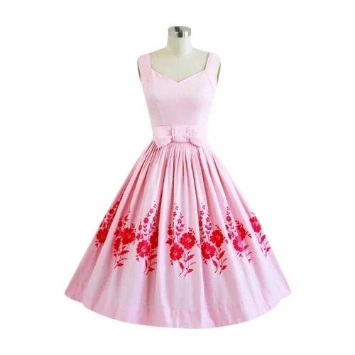 Printed One Piece Dress at Rs 2400 /piece   Ek Piece Wali Dress ...