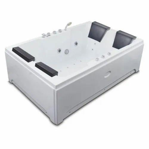 Four Person Spa Series Indoor Jacuzzi Acrylic Hydromassage Bathtub