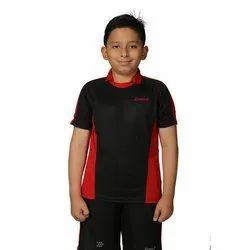 Boys Black Sport Wear T-Shirt