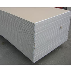 White Gypsum Board, Thickness: 12.5 & 12.7 mm