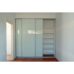 Wardrobe Glass Door Panel Designing Services
