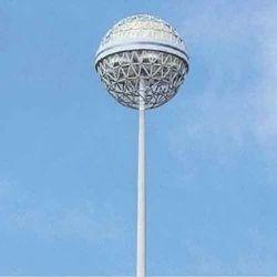 LED Polygonal High Mast Pole