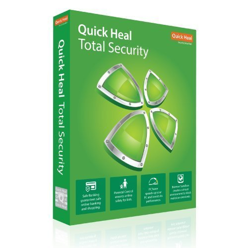 Quick Heal Total Security Antivirus 1 User - 1 Year  (Email Delivery in 2 hours- No CD) 9713111159