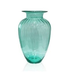 7232 Green Glass Vase