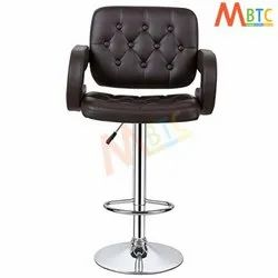 MBTC Astride Kitchen Bar Stool Chair In Brown