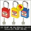 Premier Lockout Safety Padlock With Steel Shackle - Kd - 3c