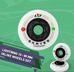 Lightning 10 - 80 mm Inline Wheel Set