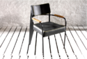 District Lounge Dining Chair With Padded Seat