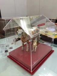 Donation Box With Cow