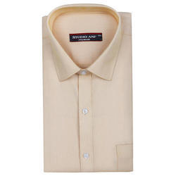 Premium Twill Light Yellow Color Formal Shirt