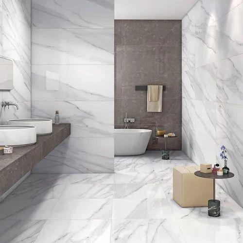 Marble Nitco Statuario Bathroom Tiles, Rs 55 /square feet ...