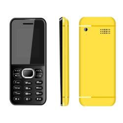 1.8 Inch Black Yellow Feature Phone